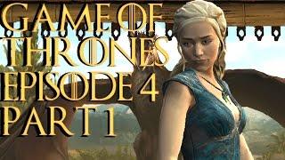 Telltale Game Of Thrones Episode 4 Sons of Winter Gameplay Walkthrough Part 1 - GOT PC 60fps 1080P