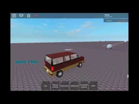 [Roblox] Jumping a 1995 Ford Explorer (With Sound)