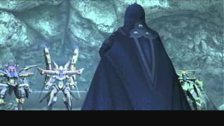 Xenosaga III HD Cutscene 093 - Blue Testament (Floating Landmass Cave) - ENGLISH - SWIMSUIT MODE
