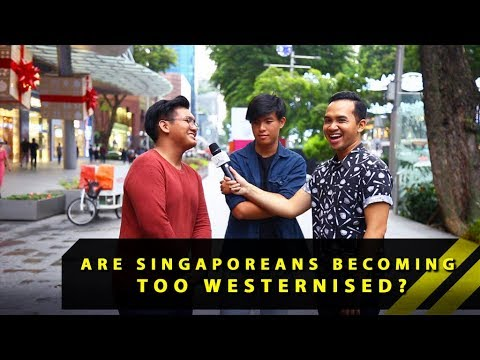 Are Singaporeans Becoming Too Westernised? | Word On The Street