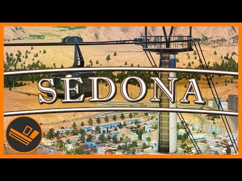 Sedona - Part 88 | CABLE CAR TRANSIT! (Cities: Skylines)