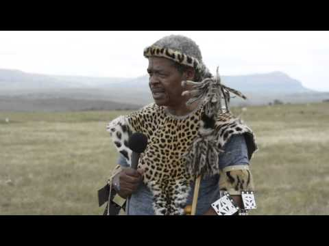 Isandlwana interview with Dr VT Zulu