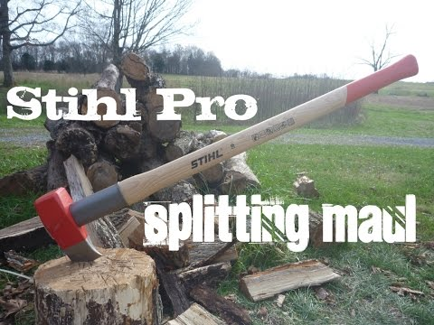 Stihl Pro Splitting Maul First Impression