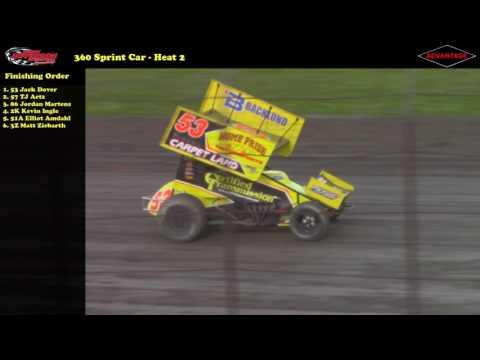 360 Sprint Car -- 5/6/17 -- Park Jefferson Speedway