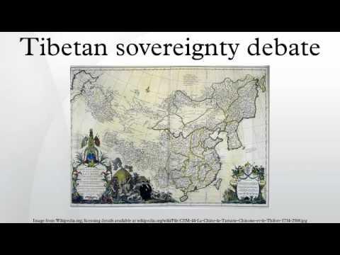 Tibetan sovereignty debate