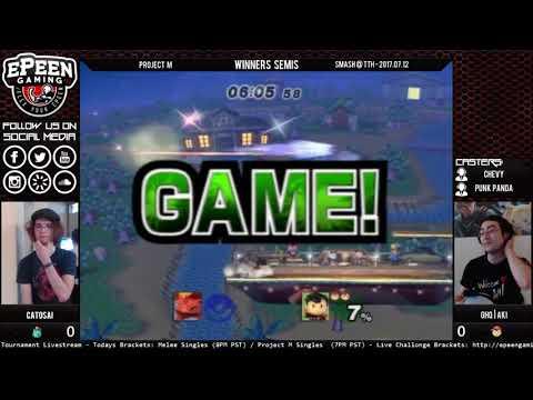 Smash @ TTH - Catosat (Ivysaur) Vs. GHQ   Aki (Ness) - Project M (Winners Semis)