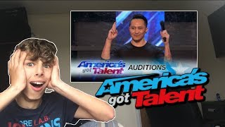 demian aditya escape artist risks his life during agt america s got talent 2017 reaction