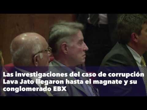 El ex multimillonario Eike Batista fue enviado a prisión por sobornos