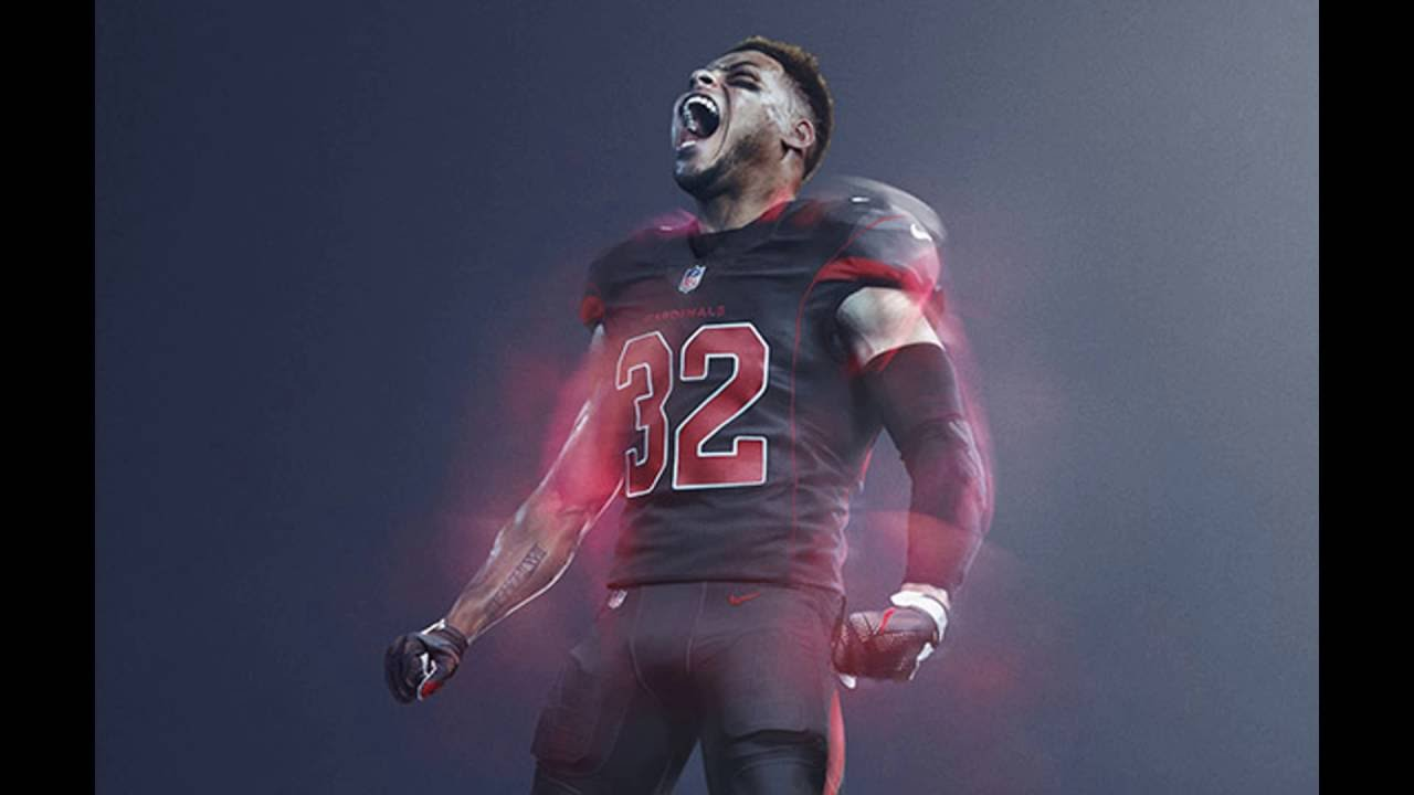 3f55d61cf All 32 NFL team s Color Rush Uniforms - YouTube