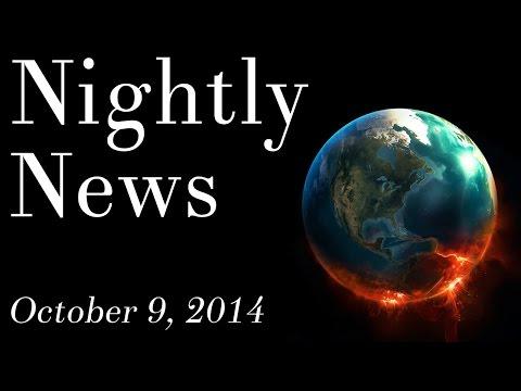 World News - October 9, 2014 - Ebola virus outbreak, political news, police news