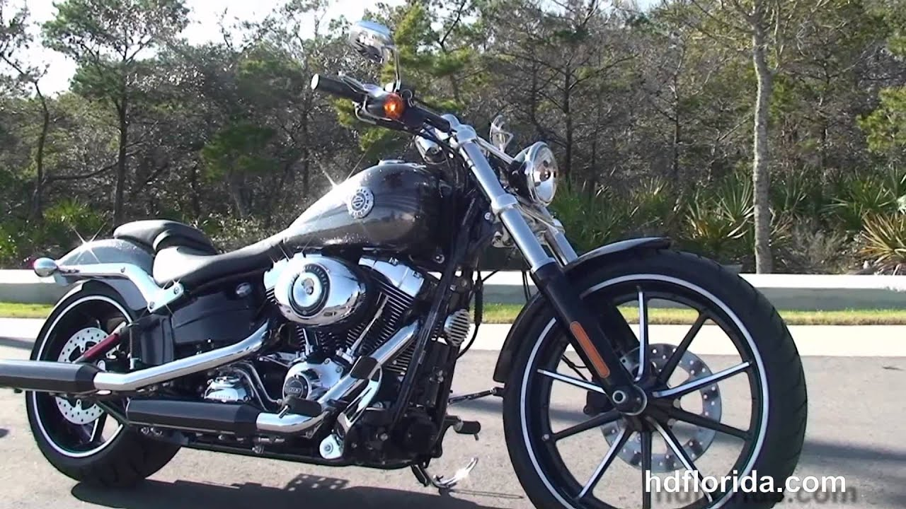 New 2014 harley davidson softail breakout motorcycles for sale bay county fl