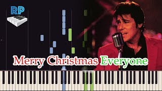 Merry Christmas Everyone - Shakin Stevens - Synthesia Piano Tutorial