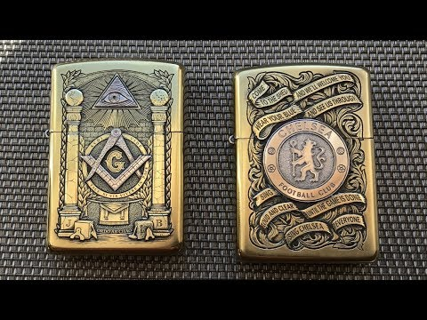 ZIPPO | ROMAN BOOTEEN HAND CARVED COINS | PART-2