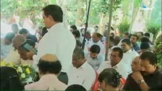 Funeral  Service of M . M  Cherian   93 on 2015 Feb 12th