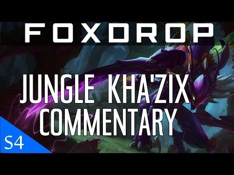 [PBE] Season 4 Kha'zix Jungle Gameplay Commentary | League of Legends