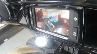 2014 Harley Davidson Infotainment system.