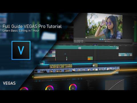 VEGAS Pro 18 Full Guide Beginner Tutorial 2021 (Official Video)
