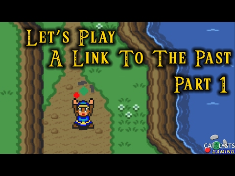 Let's Play A Link to the Past Pt. 1: Back to the PAST!