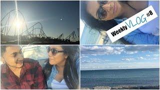 Weekly Vlog #8| Wonderland, Beach, FOOD!