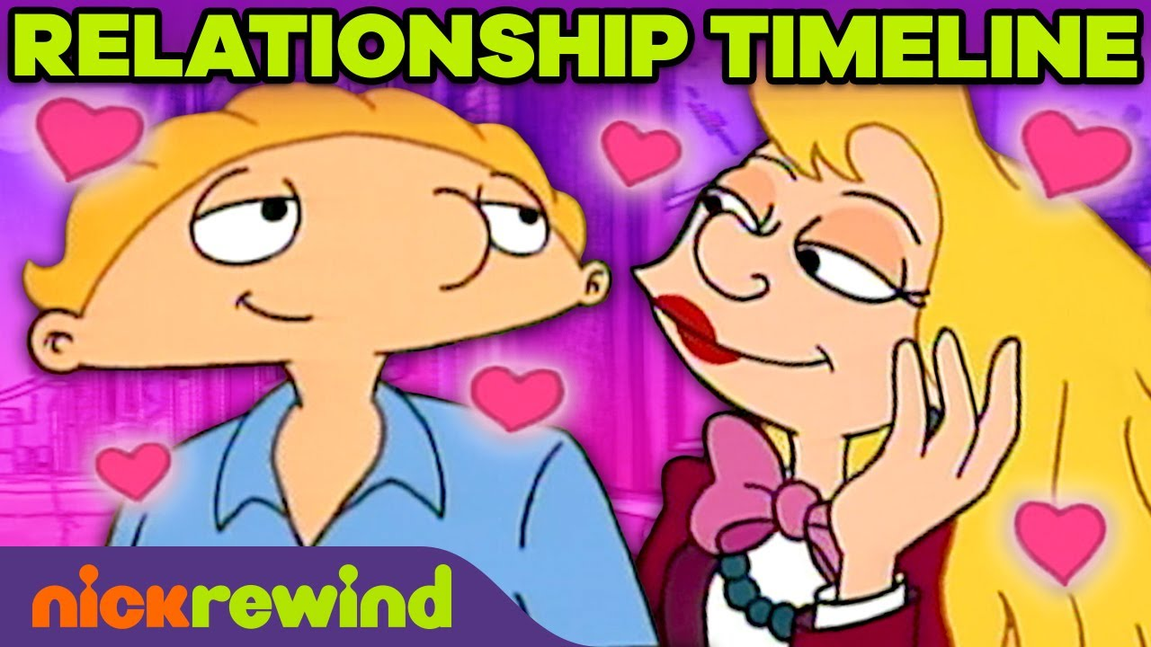 Download Arnold and Helga's Relationship Timeline �💘 Hey Arnold!