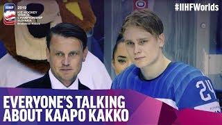 Everyone's talking about Kaapo Kakko | #IIHFWorlds 2019
