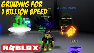 ROBLOX Dashing Simulator- Grinding for 1B Speed LIVE!