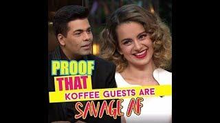 Proof That Koffee Guests Are Savage AF | MissMalini