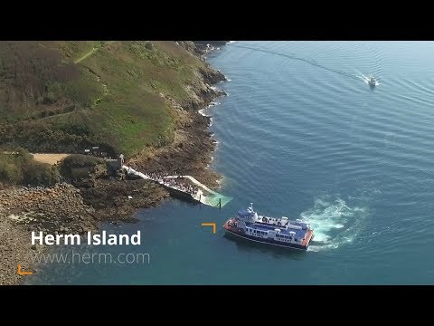Herm Island - Day trip on the Travel Trident ferry from Guernsey