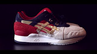 "Concpets X Asics Gel Lyte III 25th Anniversary ""Boston Tea Party"" Review & On Foot"