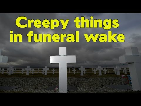 Mysterious Videos Caught On Tape - Creepy Things In Funeral Wake