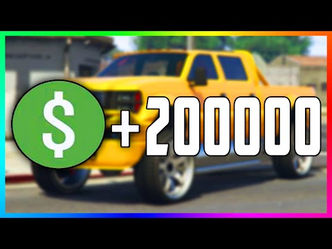 GTA Online EASY $200,000+ Money Method! - Fast & Easy Money By Selling Modded NPC Cars! (GTA 5)