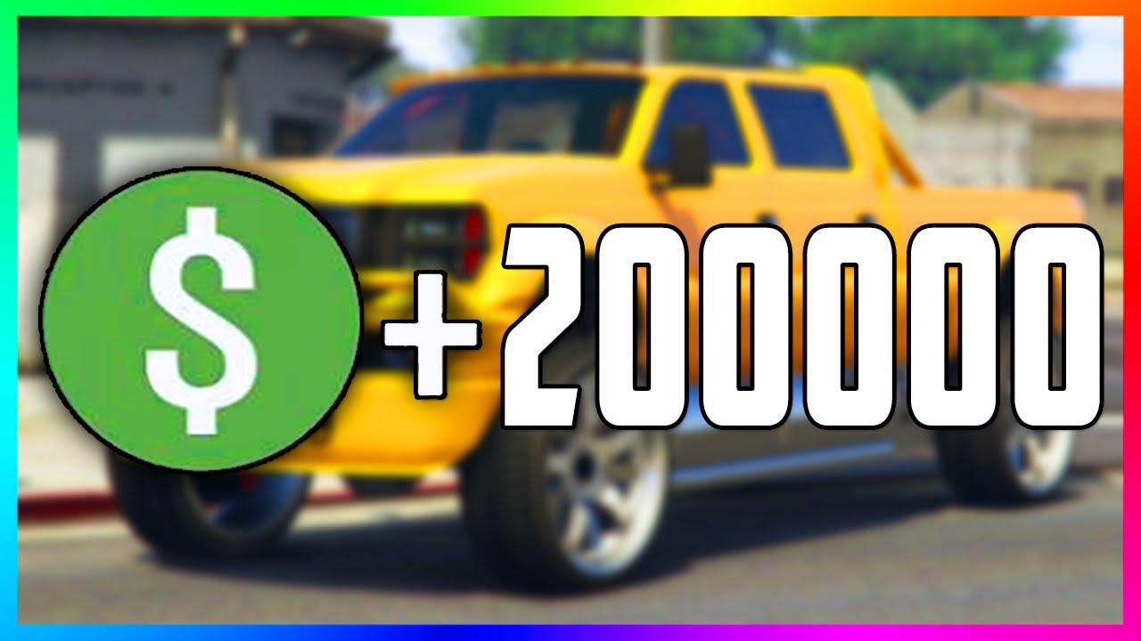 Gta Online Easy 200 000 Money Method Fast By Ing Modded Npc Cars 5 You