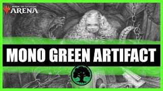 Mono Green Artifact Stompy Boy | Standard | Magic the Gathering