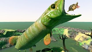 NEW PIKE LEVEL 1000 - Feed and Grow Fish - Part 91 | Pungence