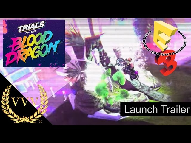 Trials of the Blood Dragon E3 2016 Launch Trailer