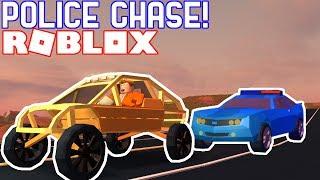 DUNE BUGGY POLICE CHASE IN JAILBREAK!! // Roblox Jailbreak Nub the Bounty Hunter #7