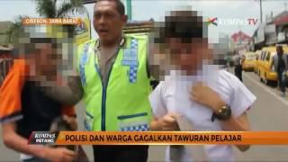 Tawuran, Tiga Pelajar Apes Ditangkap Polisi
