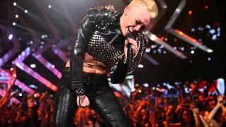 Miley Cyrus Rebel Yell Performance In VH1 Divas