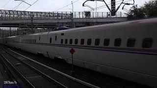 (JR東)上越新幹線速度向上試験(E7系F9編成)(2021年)