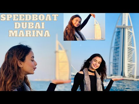 Speedboat Tour Around Dubai Marina, Atlantis, Palm Jumeirah & Burj Al Arab  | Amazing Experience