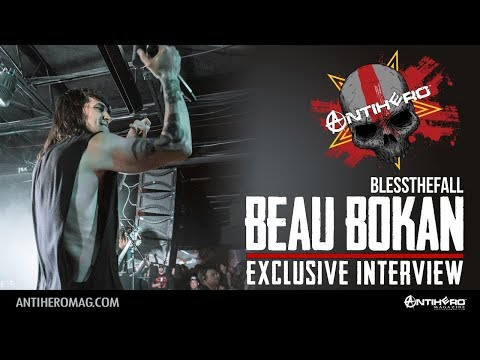 Interview with Beau Bokan of Blessthefall