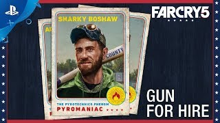 Far Cry 5 - Character Spotlight: Sharky Boshaw – Gun For Hire | PS4