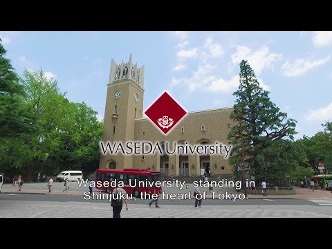 Waseda University Catch Your Dream! -Study in JAPAN- short ver. (English)