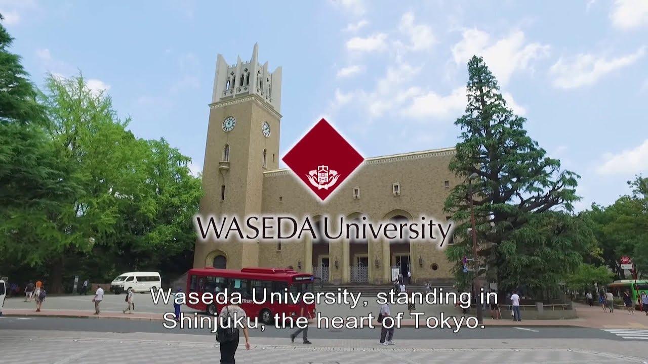 Waseda University Catch Your Dream! -Study in JAPAN- short ver ...