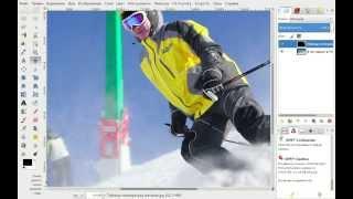 Видео уроки по GIMP для начинающих. Меню
