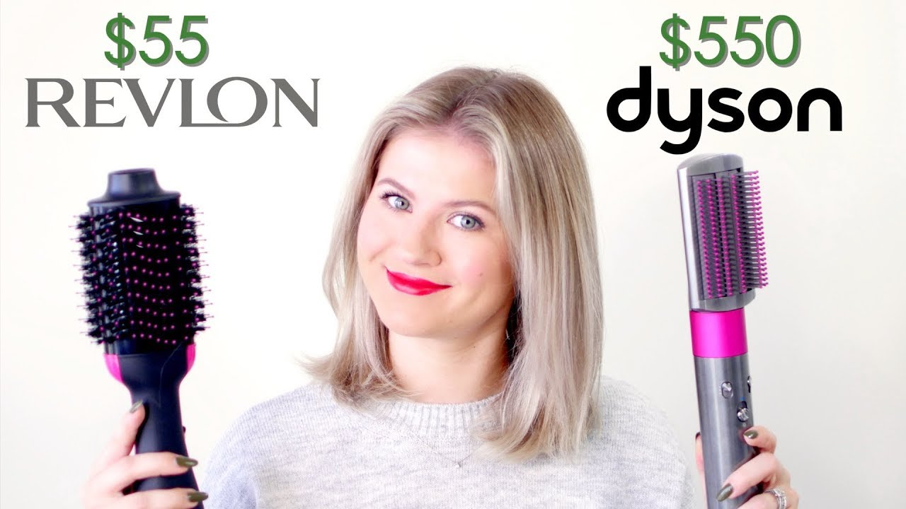 Dyson Airwrap Vs Revlon One Step Hair Dryer Milabu Youtube