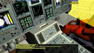 Pre-launch to launch of the space shuttle space simulator 2007