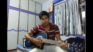kabhi aaine pe likha tujhe-hate story2-Guitar Chords Lesson by Govind