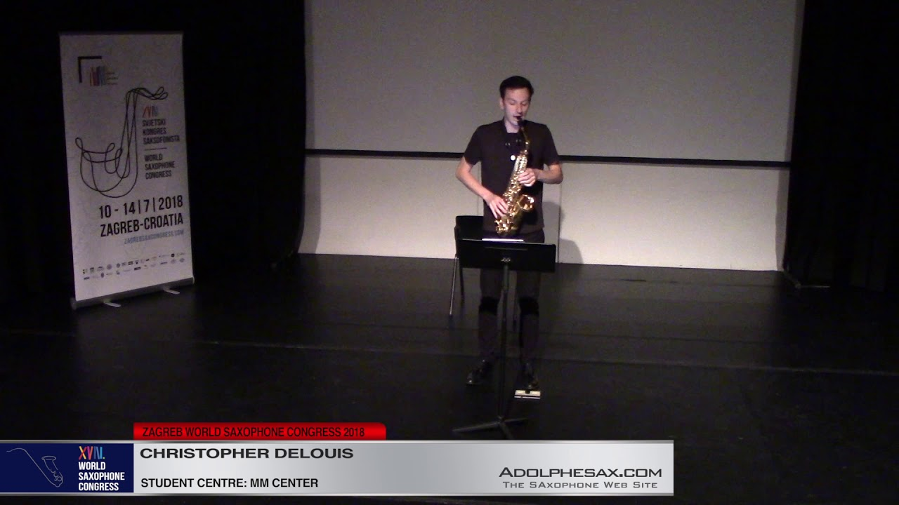 Gray Faces by David Reminick    Christopher Delouis   XVIII World Sax Congress 2018 #adolphesax