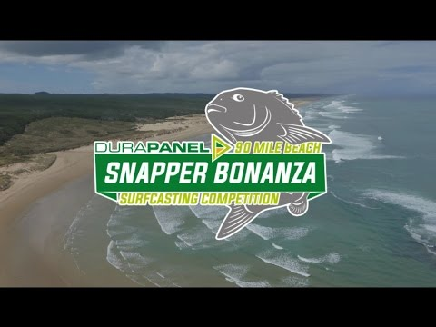 90 Mile Beach Snapper Bonanza Fishing Competition NZ